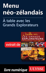 Menu néo-zélandais - À table avec les Grands Explorateurs