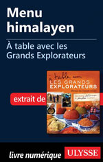 Menu himalayen - À table avec les Grands Explorateurs