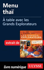 Menu thaï - À table avec les Grands Explorateurs