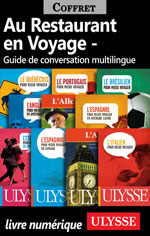 Au Restaurant en Voyage - Guide de conversation multilingue