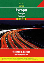 Atlas Routier Europe - Road Atlas Europe
