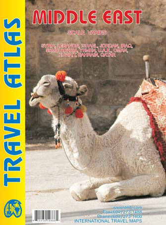 Middle East Travel Atlas - Atlas du Moyen-Orient