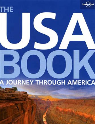 Lonely Planet USA Book Journey Through America Hard Cover