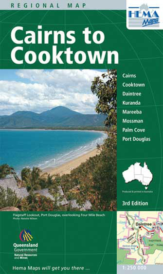 Cairns to Cooktown (Queensland), 3rd Ed.