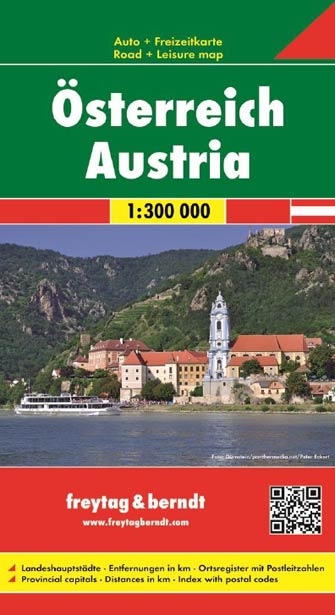 Autriche (Recto-Verso) - Austria (East Folding)
