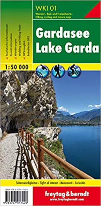 Gardasee - Lake Garda Hiking Map