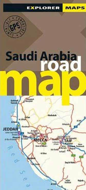 Saudi Arabia Road Map