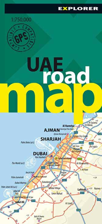 United Arab Emirats (Uae) Road Map, 2nd Ed.